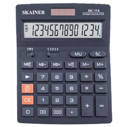 Калькулятор SKAINER 14 разр.(140*176*45мм) арт.SK-114