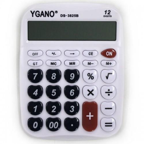 Калькулятор 12 разр.12.5*16см арт.DS-3825 (1/120ШТ)