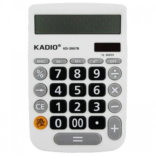 Калькулятор 12 разр.10.5*16см.КD-3867B (1/200шт.)