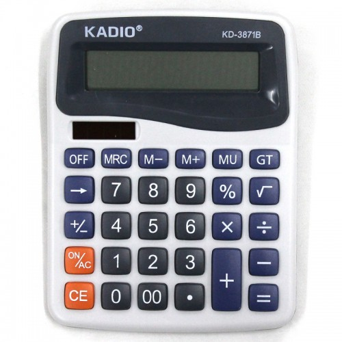 Калькулятор 12 разр. 11*14.5см, арт,KD-3871 (1/150шт)