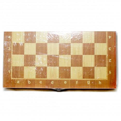 "Игра""Шахматы 3 в1"" дерево (2412см) арт. W7721 (1/72шт)"