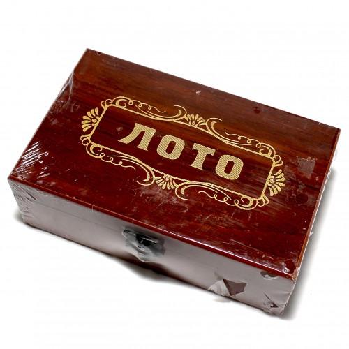 """Игра""""Лото"""" в подарочн.коробке арт.W9070D (1/48шт)"""