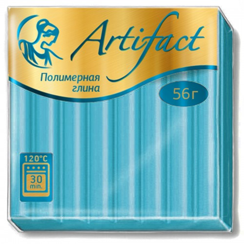 "Пластика ""Артефакт"" ГОЛУБОЙ ТОПАЗ 50гр №467 арт.К8653 (1/10шт)"