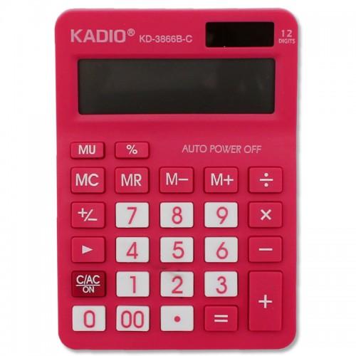 Калькулятор 12 разр.10.5*14.8см арт.KD-3866B-С цв, корпус(1/150шт.)