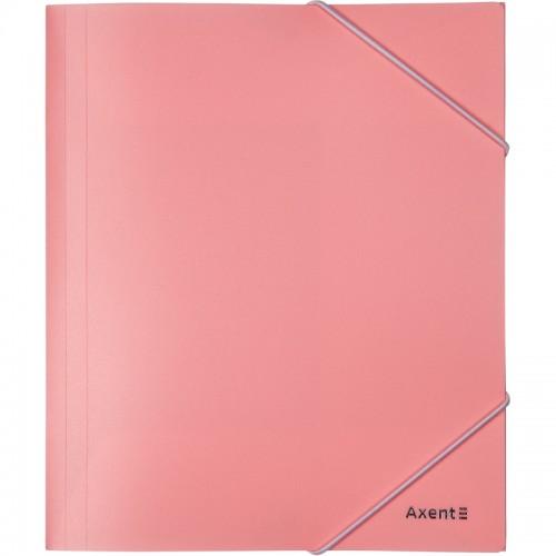 Папка на резинке А5 AXENT пласт.Pastelini РОЗОВАЯ арт.1514-10-А (1/12шт)