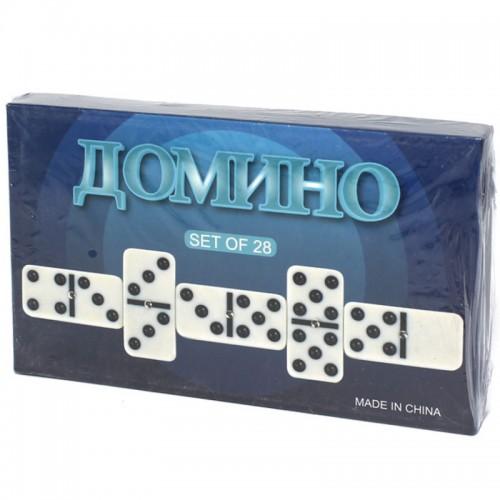 """Игра""""Домино"""" в под.упак.28 костей арт.5010-К(4012) (1/60шт.)"""