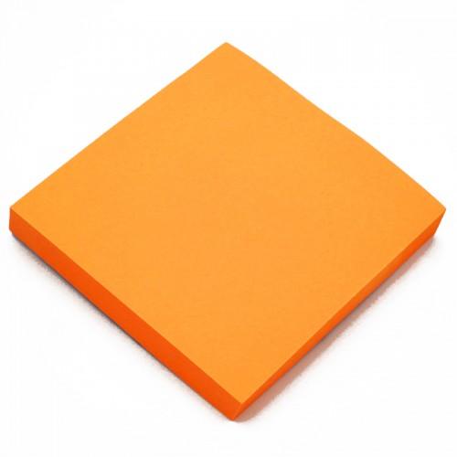 Блок c липк.слоем (76*76мм) неон ОРАНЖЕВЫЙ арт.10657 (1/12/600шт)
