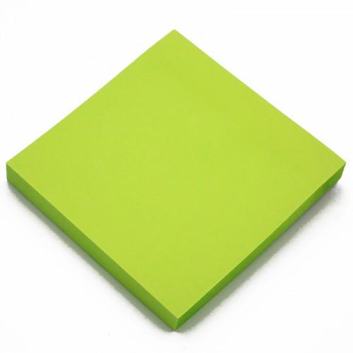 Блок c липк.слоем (76*76мм) неон ЗЕЛЕНЫЙ арт.10659 (1/12/600шт)