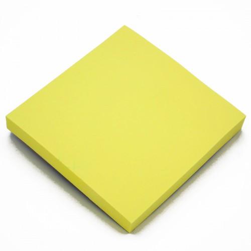Блок c липк.слоем (76*76мм) неон ЖЕЛТЫЙ арт.10660 (1/12/600шт)
