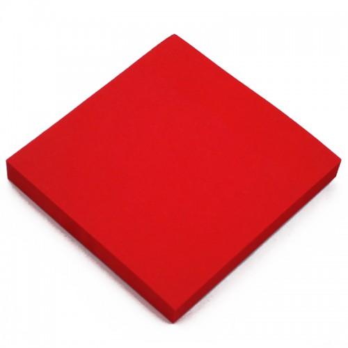 Блок c липк.слоем (76*76мм) КРАСНЫЙ арт.10662 (1/12/600шт)
