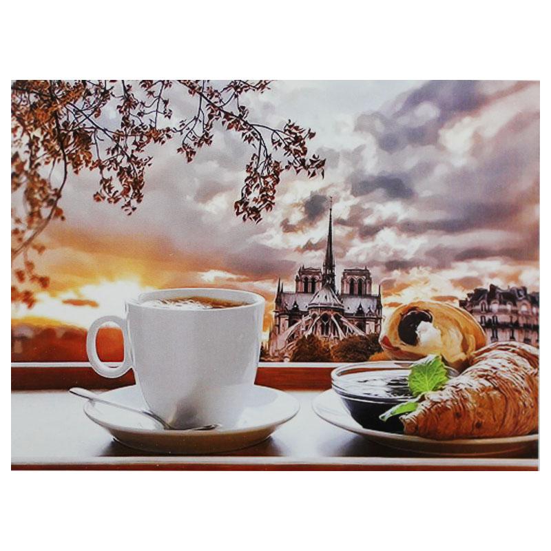 Картина по номерам (40*50см) ЗАВТРАК арт.GX1450 (1/15шт)