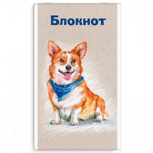 Блокнот А6  40л КОРГИ арт.58078 (1/5/80шт)