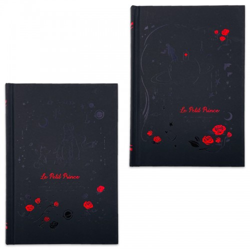 Скетчбук А5 128л 7БЦ б/лин. LE PETIT PRINCE бумага черн.тонир. арт.6128-0421 (1/96шт)
