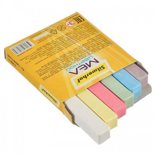 Мел цветной набор 6цв СОЛНЕЧНАЯ КОЛЛЕКЦИЯ 1097205 арт.882086-06 (1/30наб)