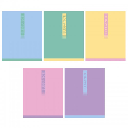 Тетрадь 48л клетка ELEGANCE софт тач арт.9472/5 (1/45шт)